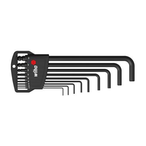 Sada zástrčných klíčů s šestihrannou kulovou hlavou, 9 dílů, WIHA, 03879 (369B)