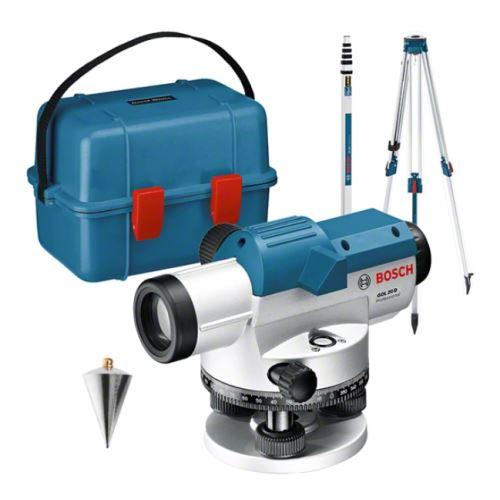 Optický nivelační přístroj GOL 20D set Bosch Professional